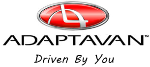 AdaptaVan Mobility Logo for Commercial and ADA Compliant Wheelchair Van Conversions