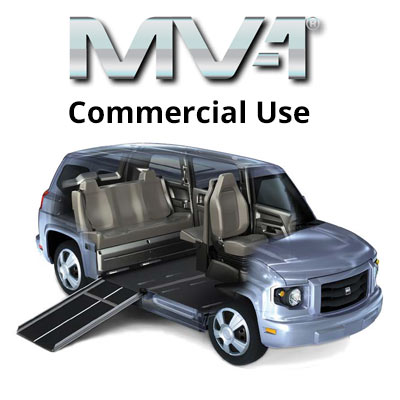 Commercial Use MV 1 Wheelchair Accessible Van Vehicle Sold New York ADA Compliant